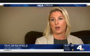 Taylor Rayfield on NBC 4 News